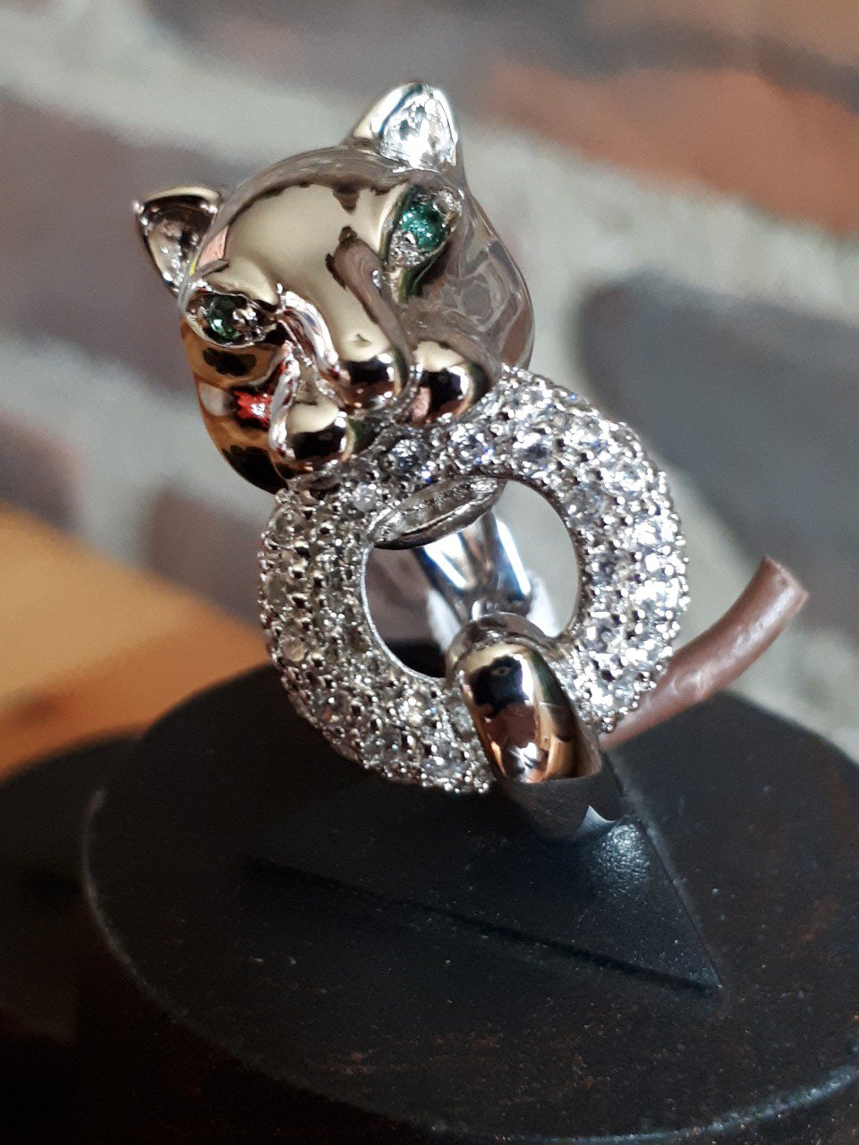 Bague panthere T.14/54