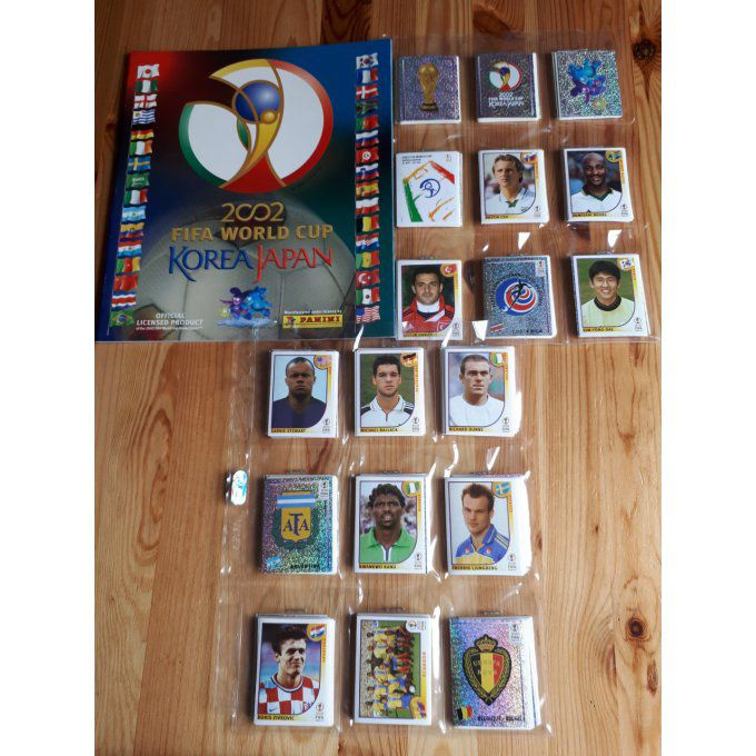 Panini Korea Japan 2002 Set complet 576 images