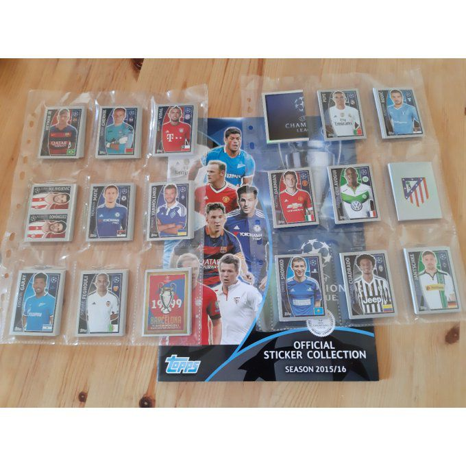Topps Champions League 2015/2016 set complet