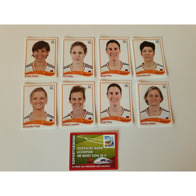 Spécial Jewe sticker Germany women 2011