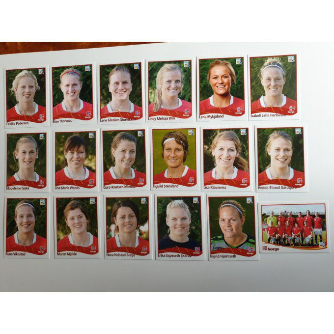 Sticker Germany women 2011 Norge Team