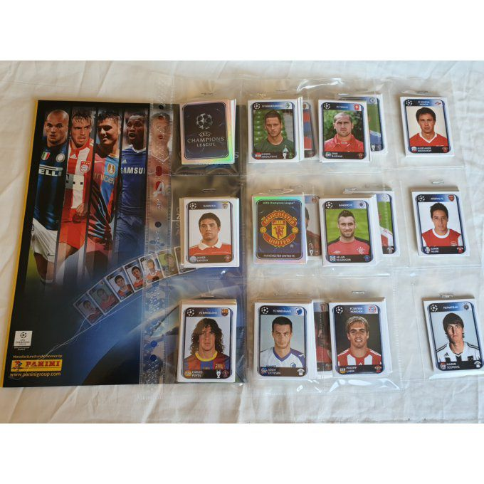 Panini Champions League 2010/2011 set complet