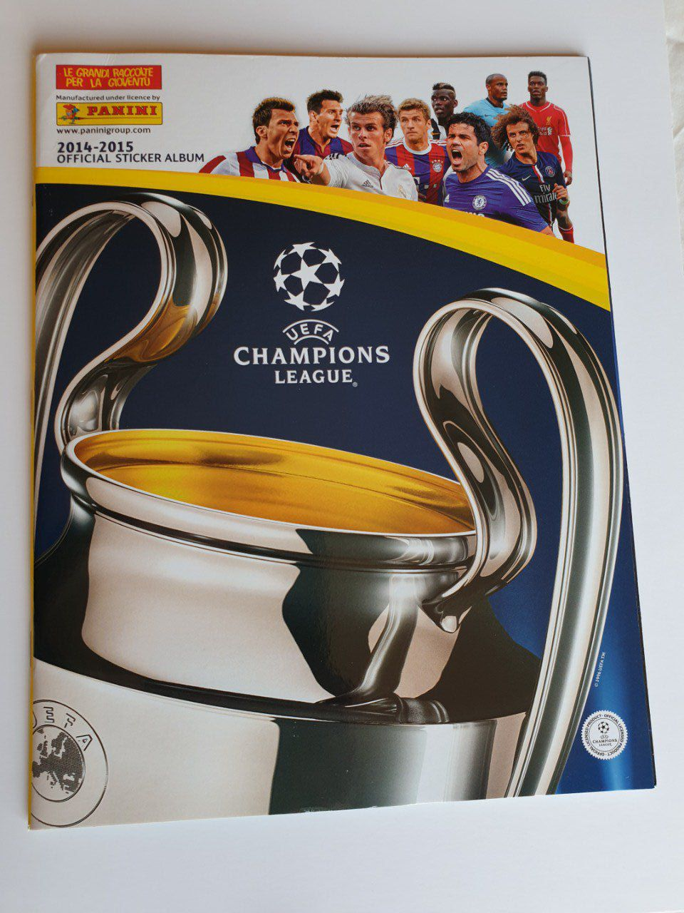 Panini Champions League 2014/2015 Album vide