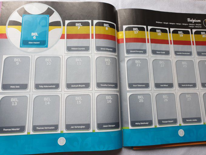 Panini Preview Euro 2020 set complet 568 images Turquoise FR
