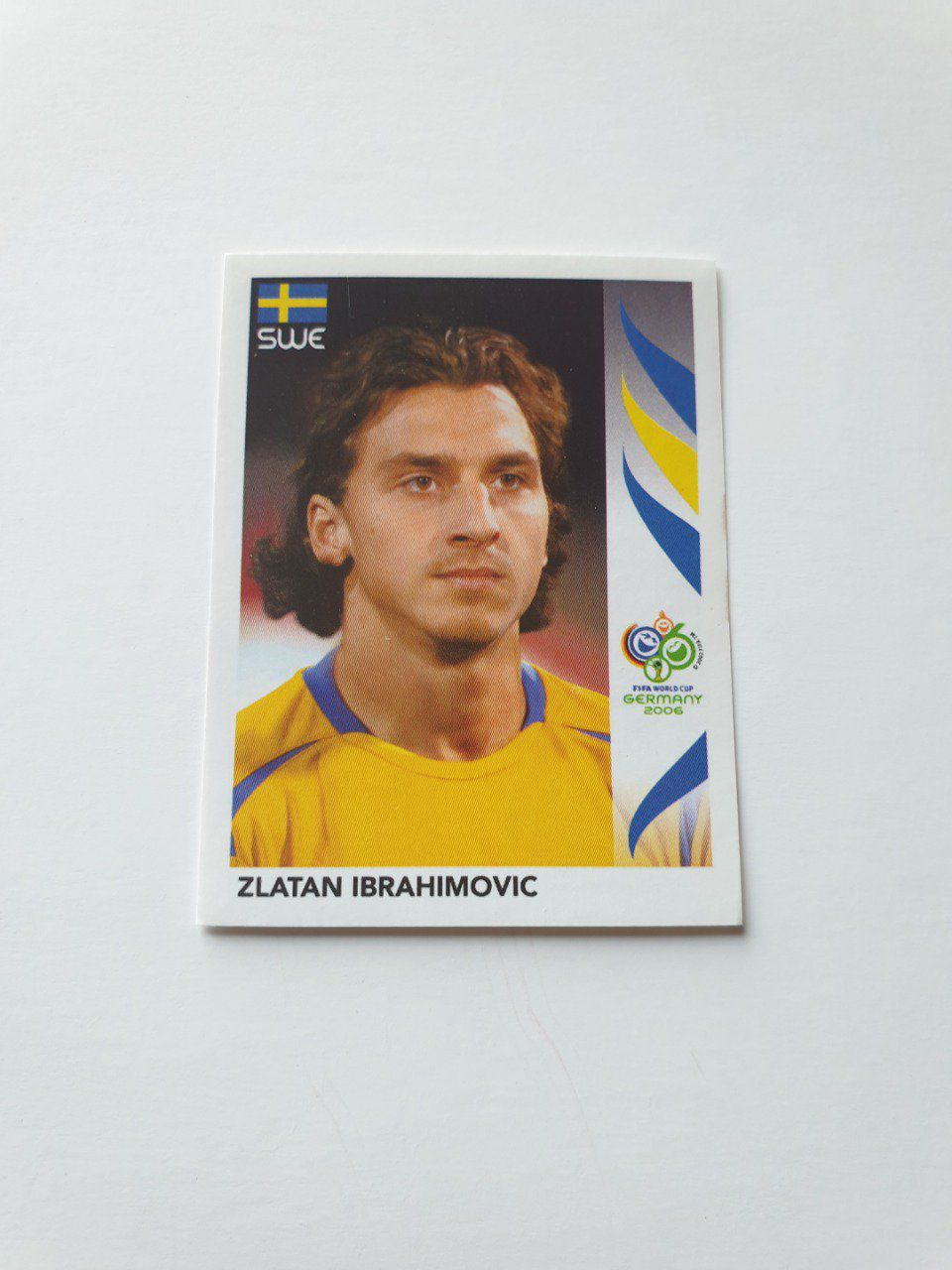 Zlatan Ibrahimovic made in Brazil sticker Germany 2006 n°166