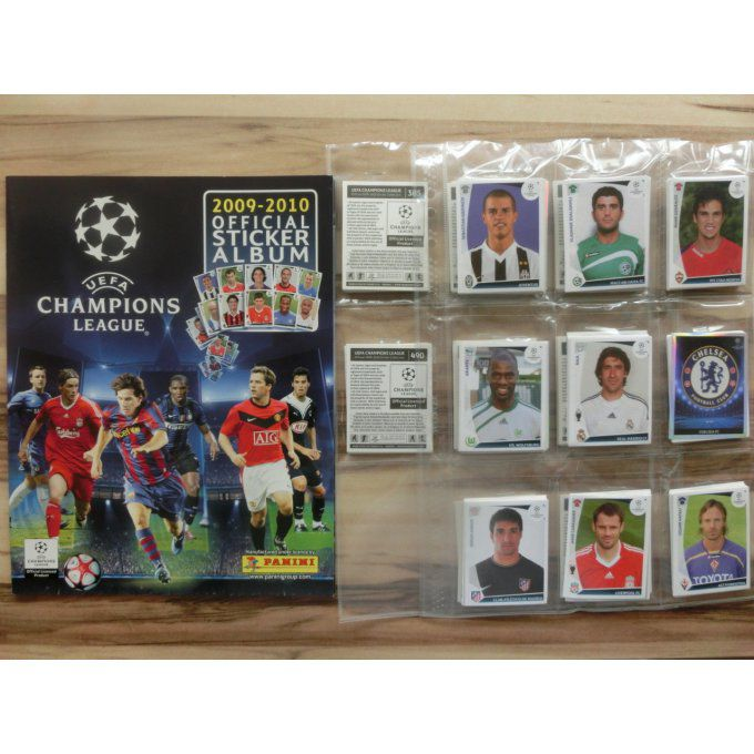 Panini Champions League 2009/2010 set complet