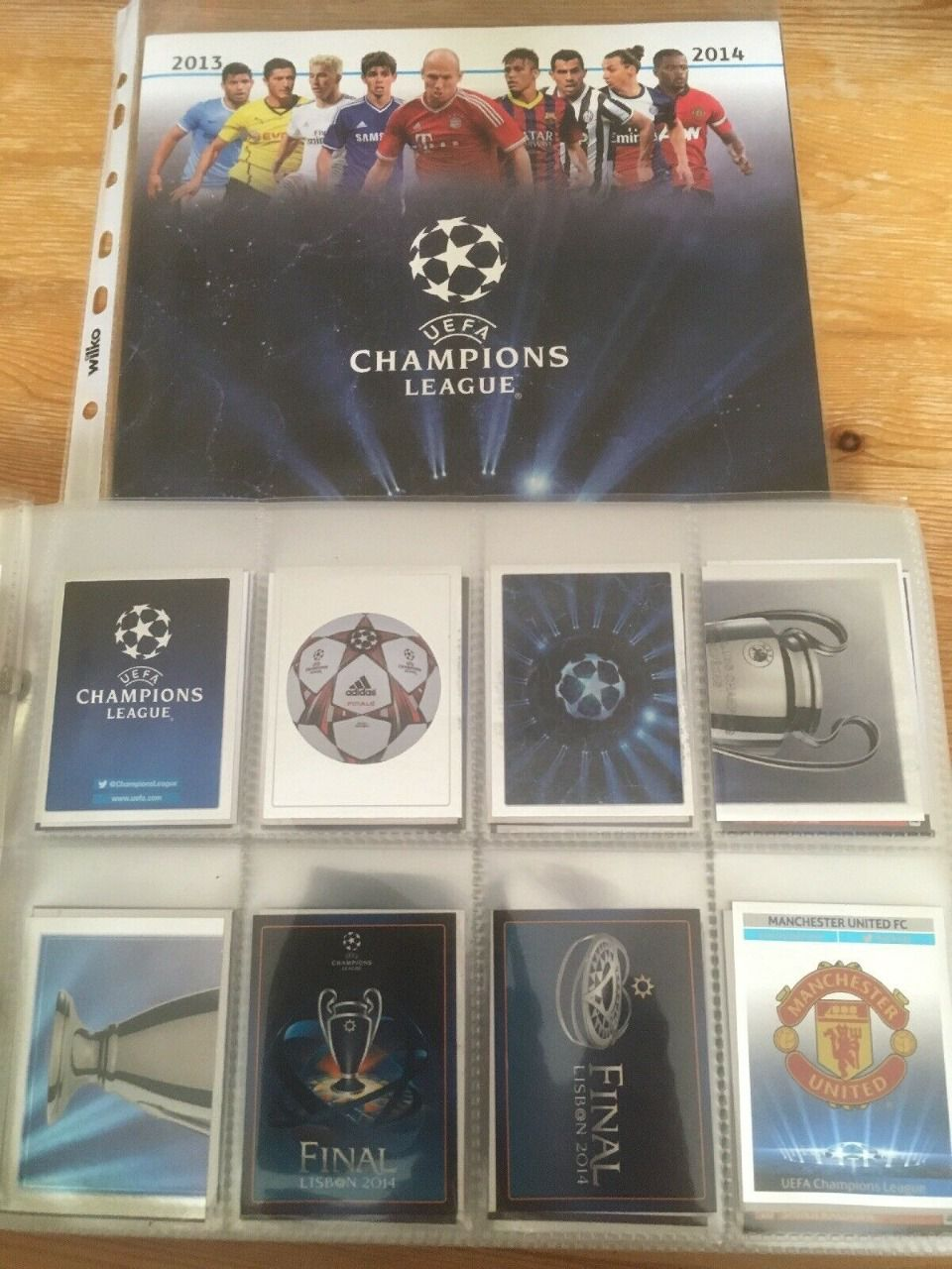 Champions League 2013/2014 set complet