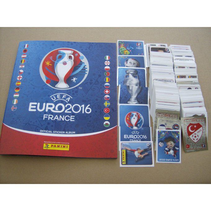 Panini Euro 2016 Set complet 680 images