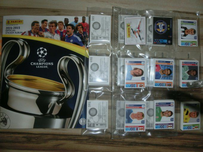 Panini Champions League 2014-2015 set complet