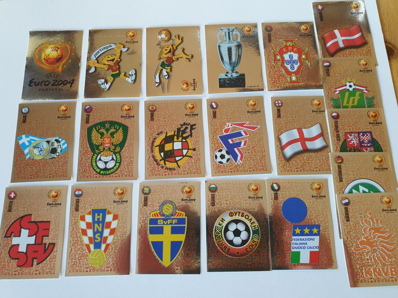 Panini 20 brillantes Euro 2004 sticker