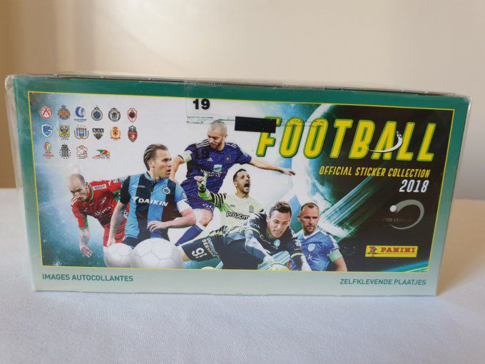 Panini Football Pro League 2018  par Boîte