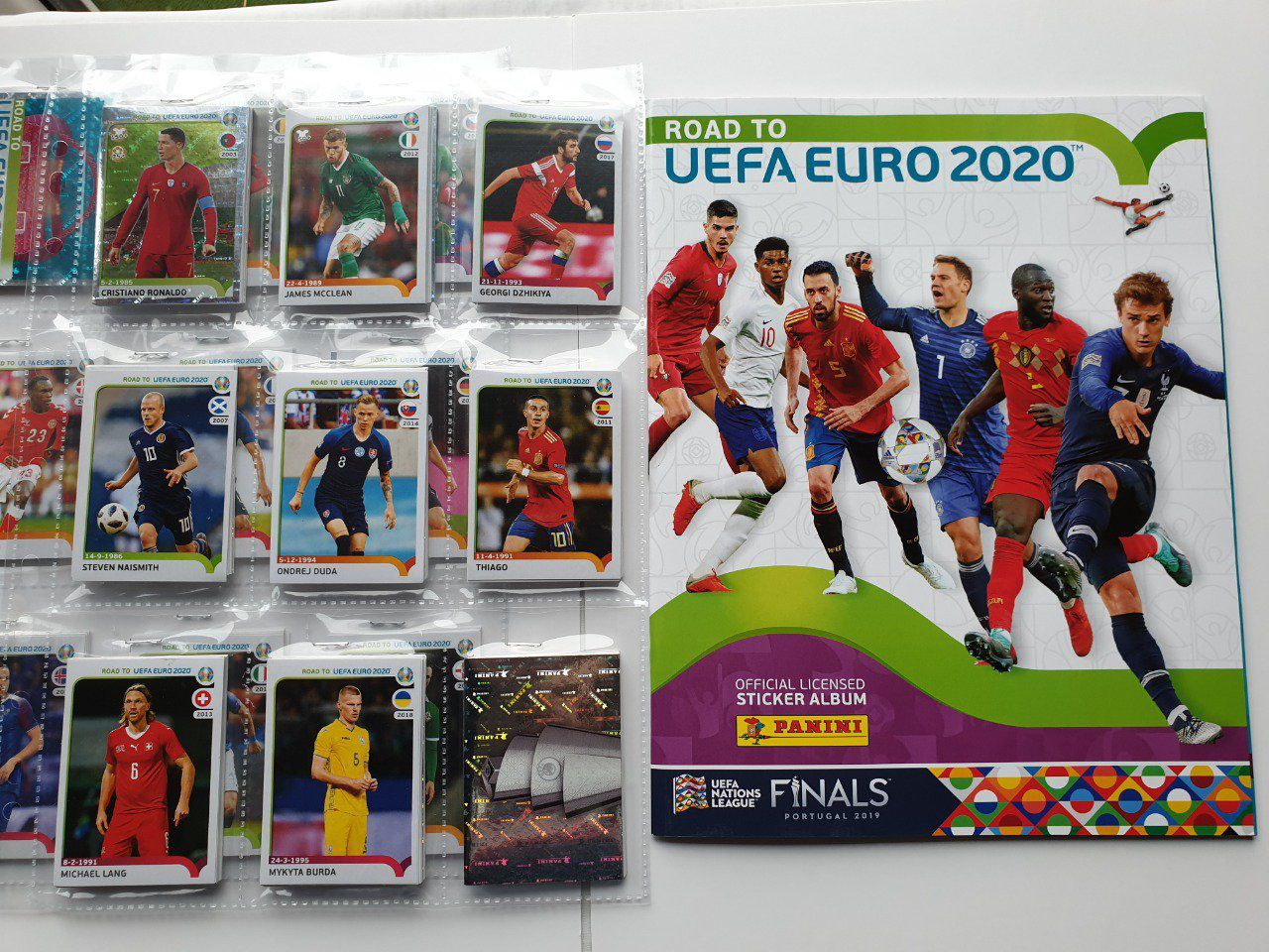 Panini Road to UEFA Euro 2020 Set complet 476 images