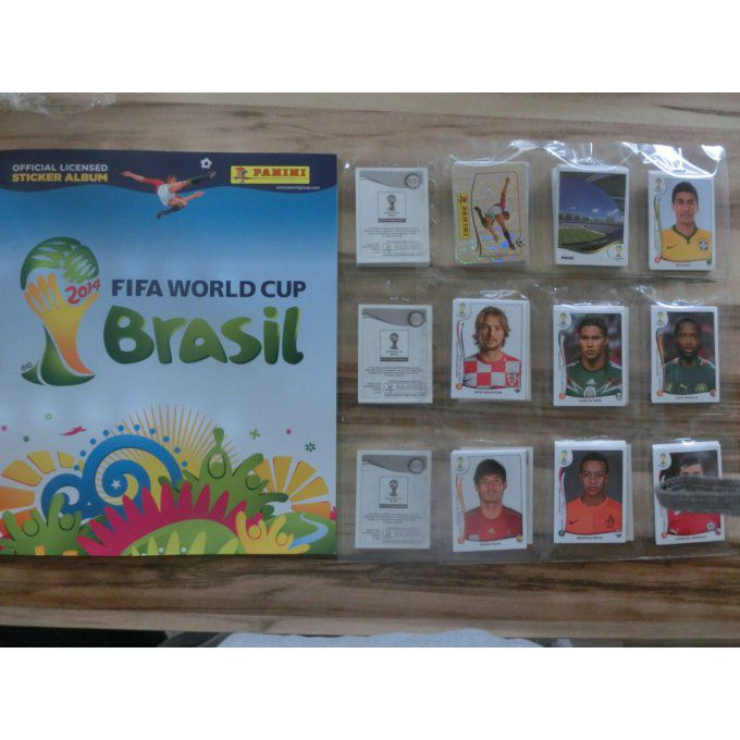 Panini Brazil 2014 Set complet 640 images