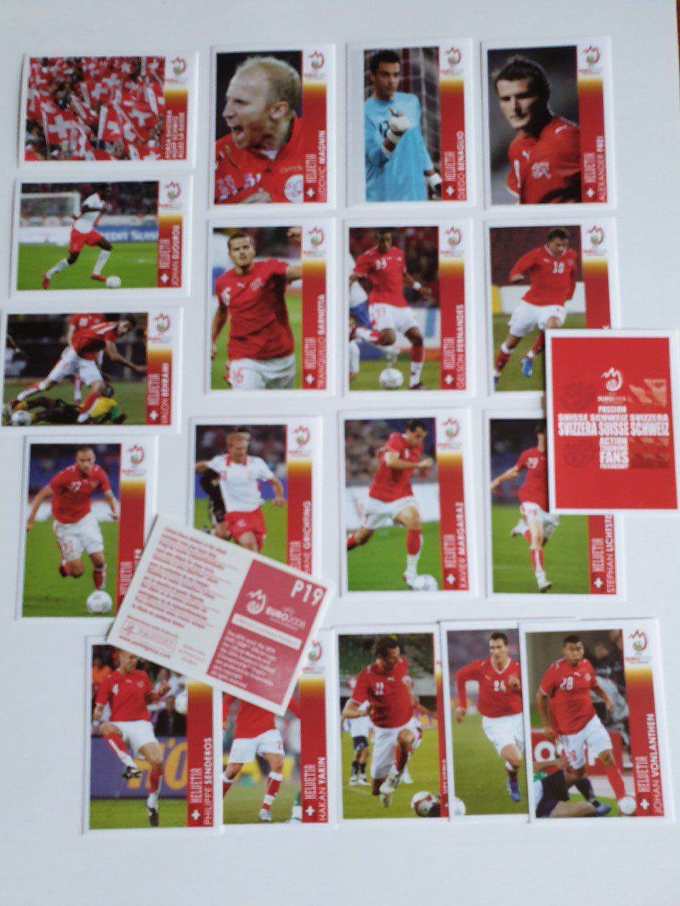 Panini Extra sticker Euro 2008 version Suisse