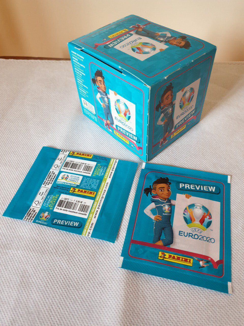 Panini Euro 2020 Preview Box 60 pochettes France