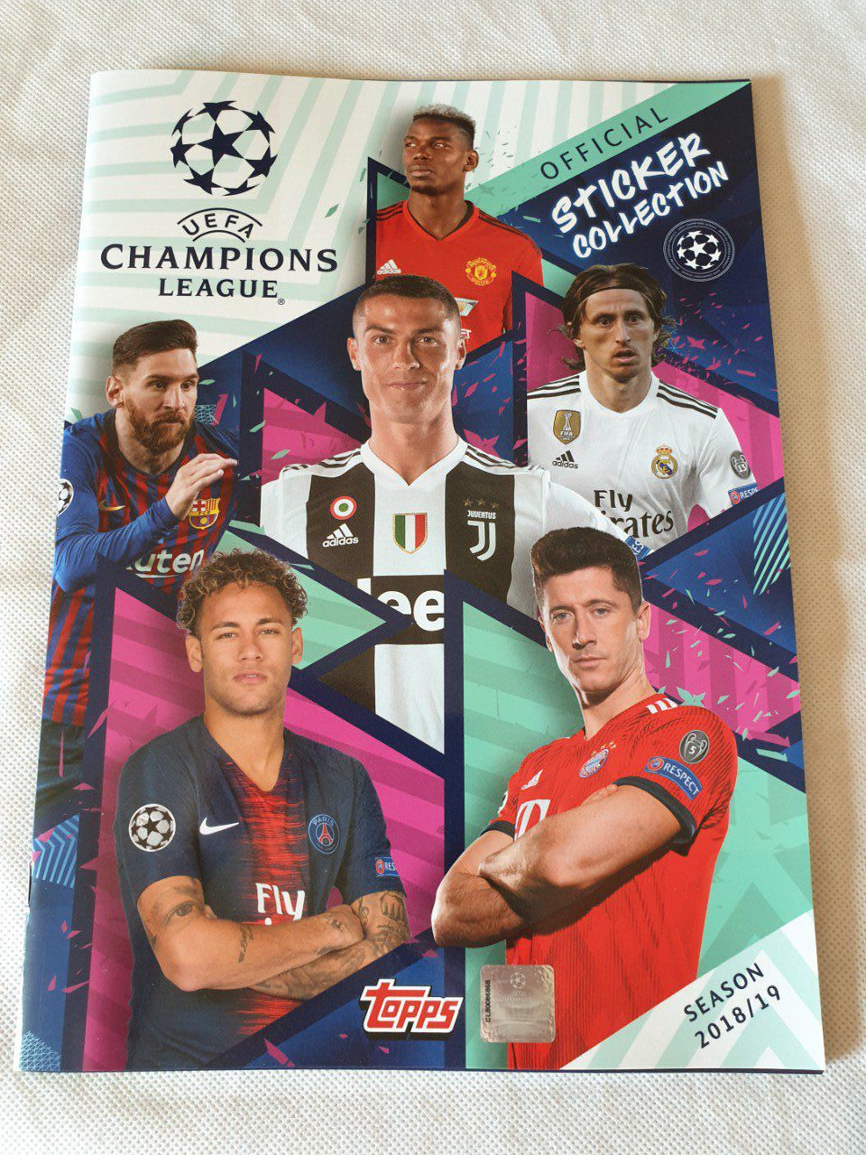 Topps Champions League 2018/2019 Album vide