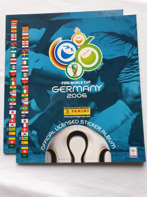 Panini Album vide Germany 2006 version sud Amerique