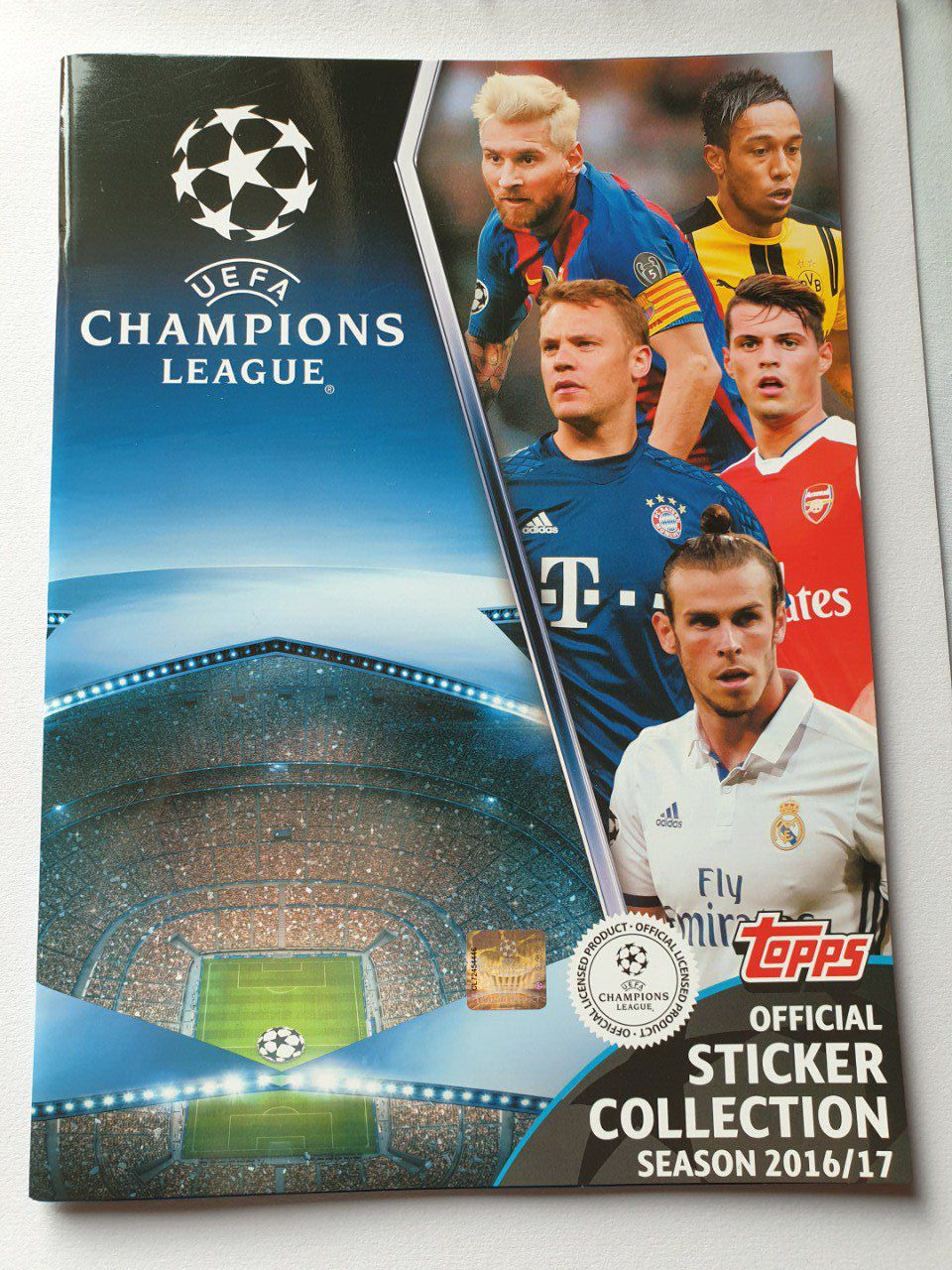 Topps Champions League 2016/2017 set complet