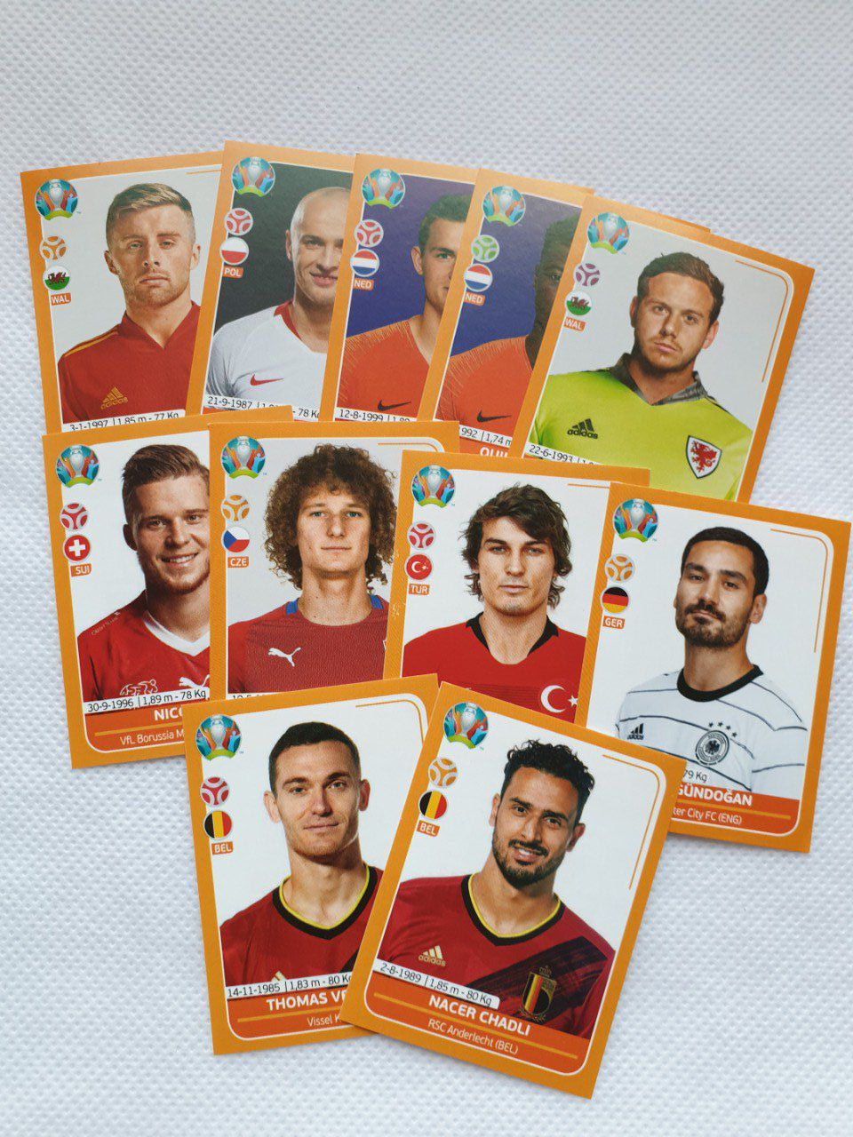 Euro UEFA Preview image a la pièce Orange