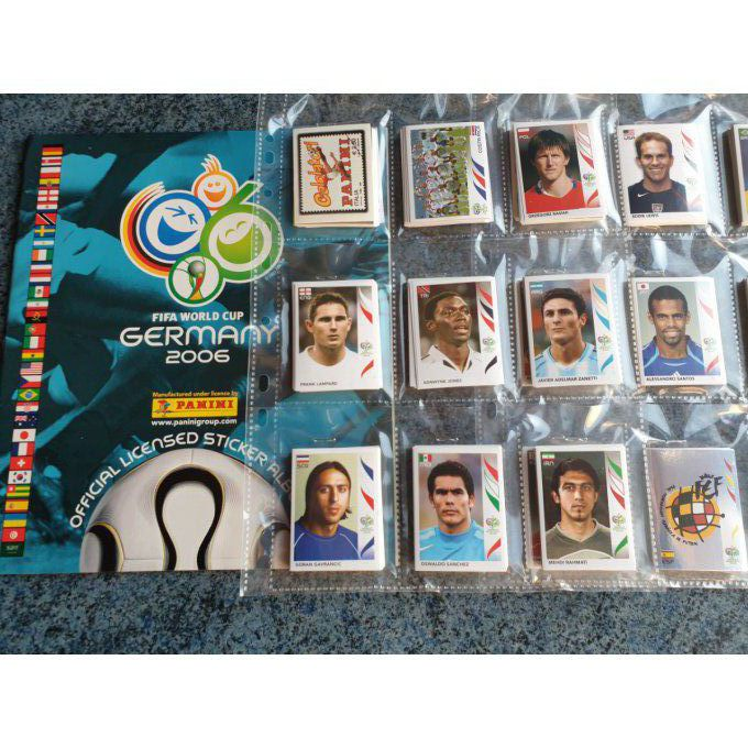 Panini Germany 2006 Set complet 596 images