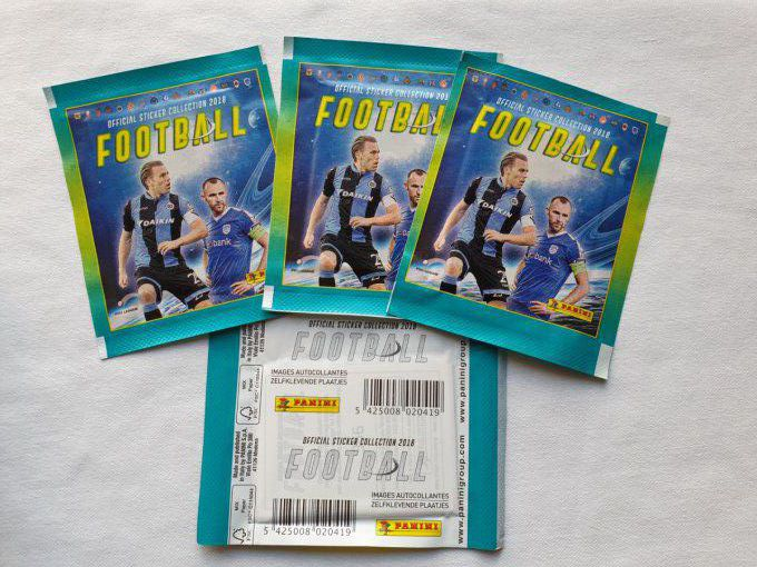 Panini Football Pro League 2018 par pochette