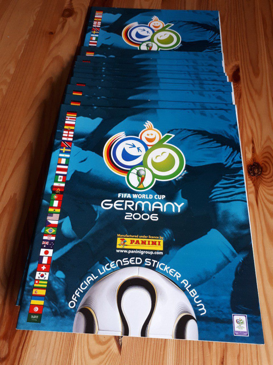 Panini Album vide Germany 2006 vers Europe