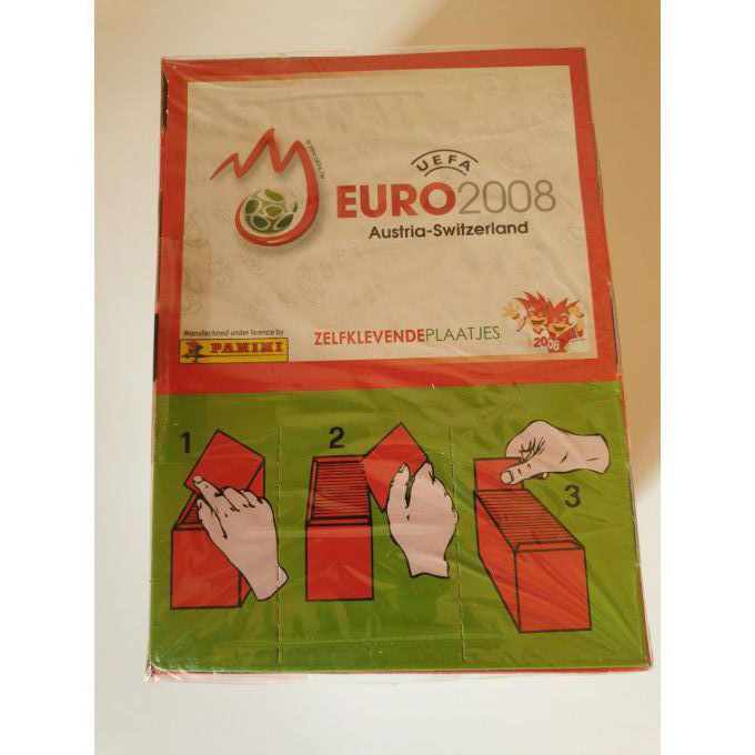 Euro 2008 par boîte version rouge europe