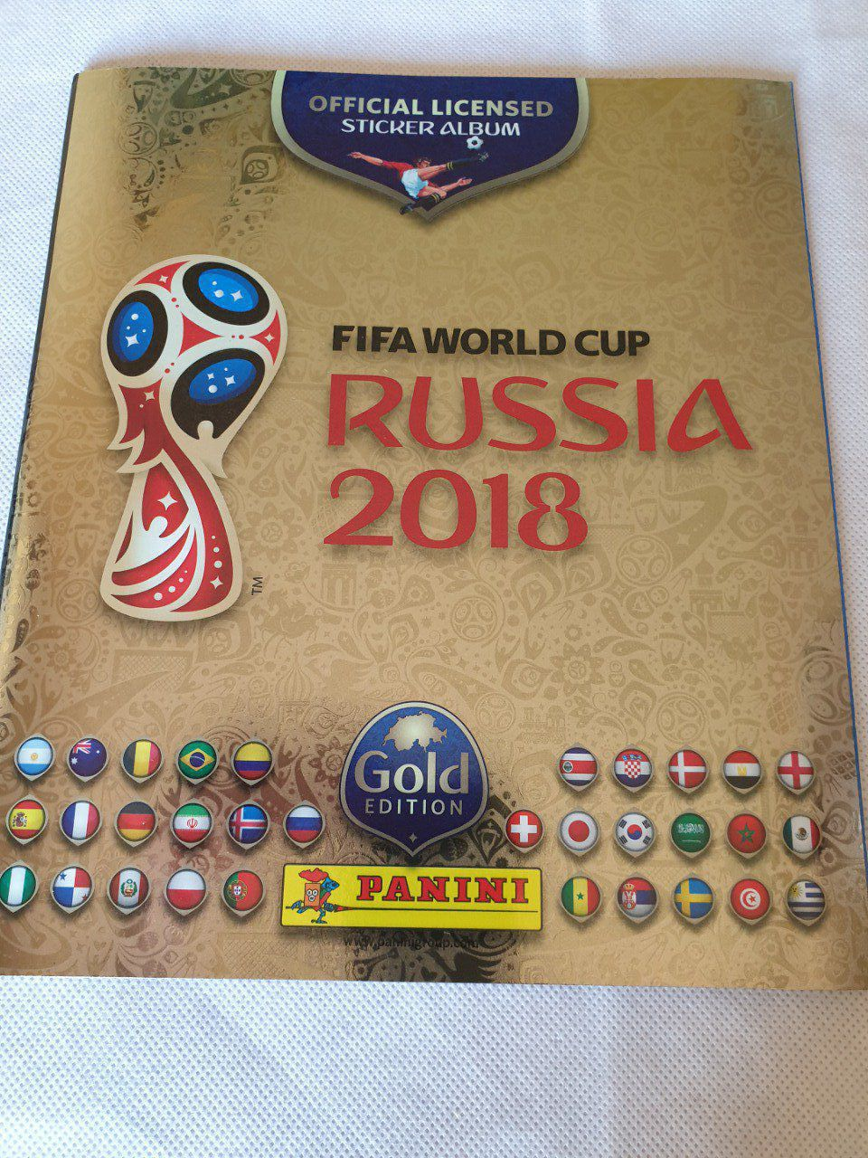 Panini Russie 2018 GOLD Edition Suisse Set Complet
